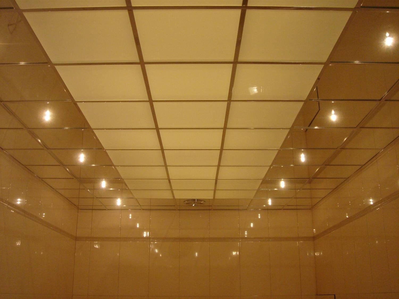 Как сделать подвесной потолок из оргстекла